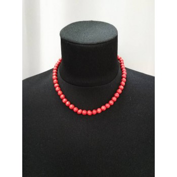 Small red necklace