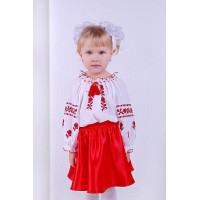Rose baby, children's blouse with long sleeves