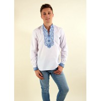 Colonel, embroidered shirt