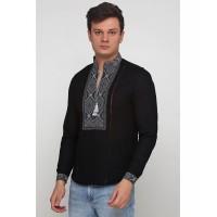 Игнат, рубашка мужская с вышивкой (вышивка)