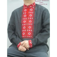MEN'S SHIRT WITH EMBROIDERY SVITOZAR