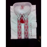 KOLOSVIT, men's classic shirt with embroidery