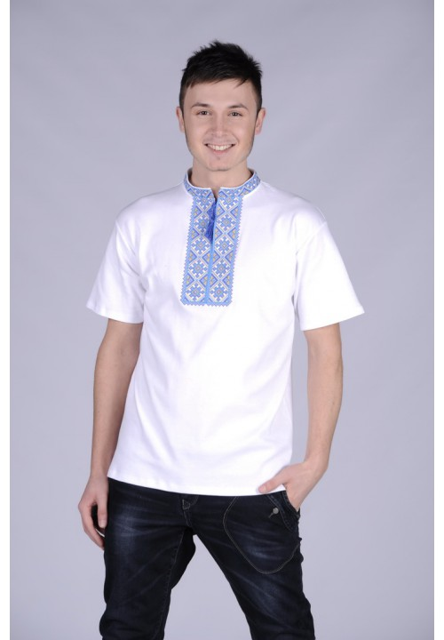 My lord, men's T-shirt with embroidery