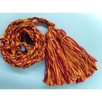Пояс плетеный длинный