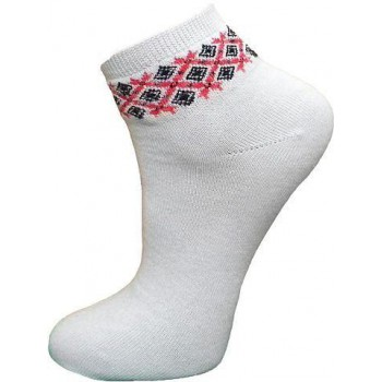 Women's socks with embroidery (38-40)