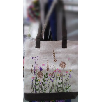 Freckles, bag with embroidery