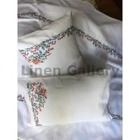 Аскания, комплект постельного белья с вышивкой