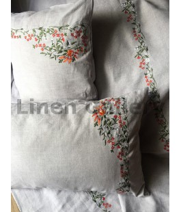 Askania, Bed linen set with embroidery
