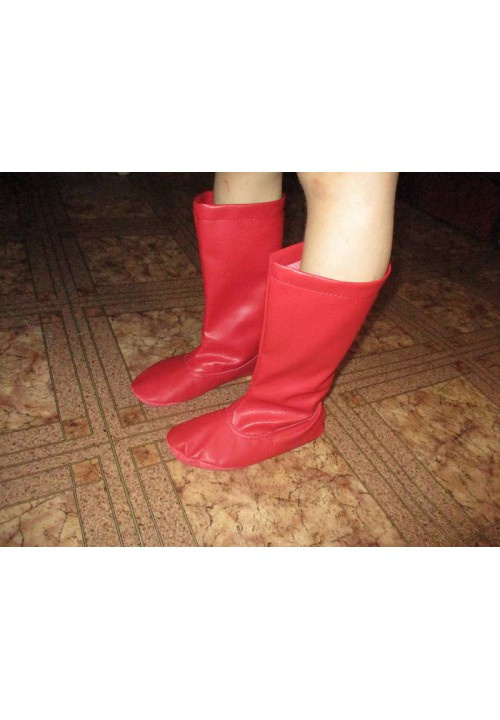 Czech boots are red