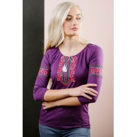 Polina, T-shirt with long sleeves