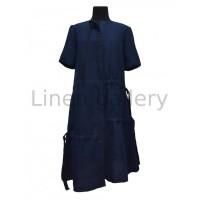 Хіт, жіноча сукня вишиванка, синя