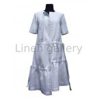 Хіт, жіноча сукня вишиванка, блакитний