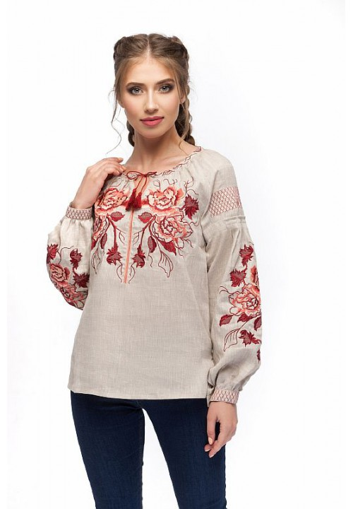 Clairvoyant, women's embroidered shirt