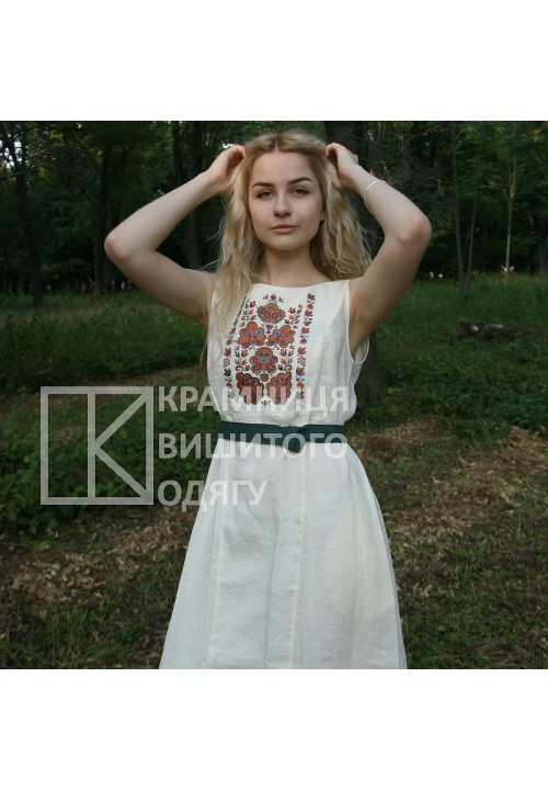 Sophie, women's embroidered dress