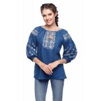Милослава, блузка (вышивка) льняное