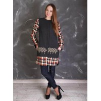 Анета, Пальто с вышивкой
